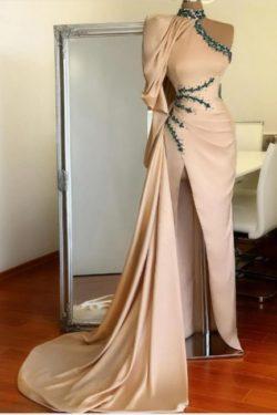 Designer Abiballkleider Lang Gunstig | Abendkleid mit armel | Babyonlinedress.de