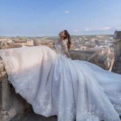Schicke Hochzeitskleider Prinzessin | Brautkleider Mit Spitze | Babyonlinedress.de