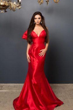 Elegante Abendkleider Lang Rot | Abendmoden Online Kaufen | Babyonlinedress.de