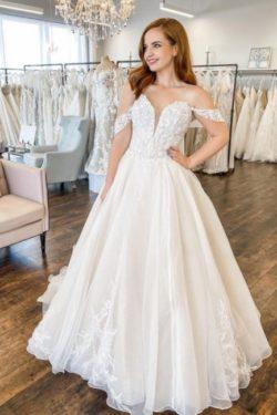 Moderne Hochzeitskleid A Linie | Brautkleider Gunstig Online | Babyonlinedress.de