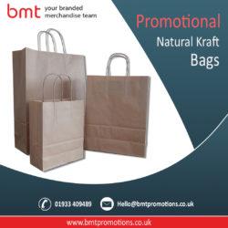 Promotional Natural Kraft Bags