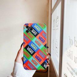 Vans iPhone12カバー 個性