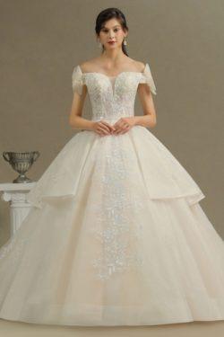 Wunderschone Brautkleider Prinzessin | Hochzeitskleider Gunstig Online | Babyonlinedress.de
