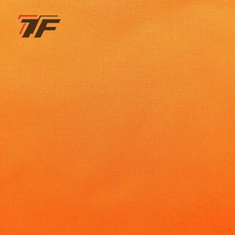 Sportswear 90% Polyester 10% Spandex 300GSM Good Tension Four Ways Stretch Suede Fabric YG015