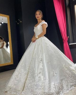 Prinzessin Hochzeitskleider mit Spitze | Gunstige Brautkleider | Babyonlinedress.de