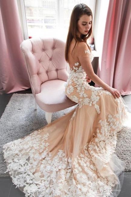Schone Hochzeitskleid Meerjungfrau | Brautkleider Mit Spitze | Babyonlinedress.de