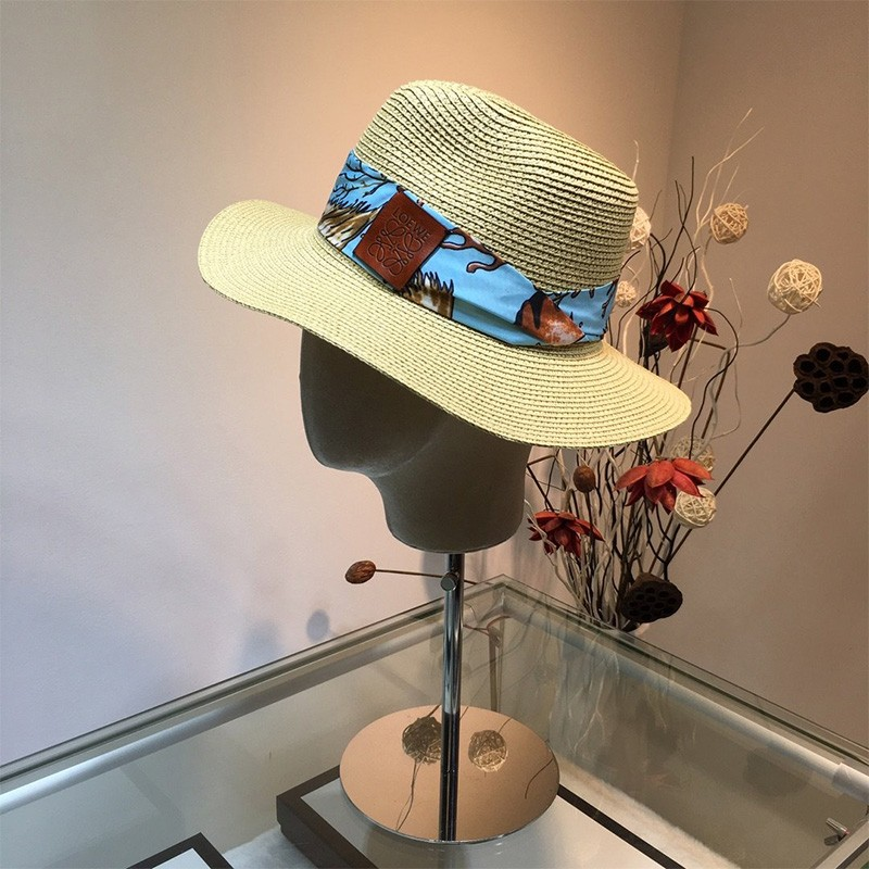 Loewe X Paula's Ibiza Dorfman Hat In Beige