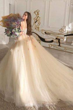 Prinzessin Brautkleider Tull | Hochzeitskleider Gunstig Kaufen | Babyonlinedress.de