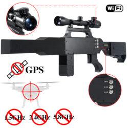Detachable Gun-Type Drone Jammer Can Shield GPS WIFI Signal