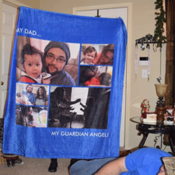 Custom Blankets Personalized Photo Blankets Custom Collage Blankets With 6