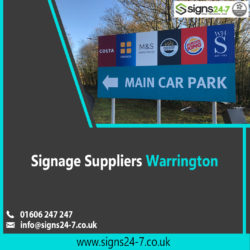 Signage Suppliers Warrington