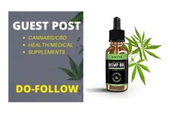 I will do guest post on cbd blog with do follow link