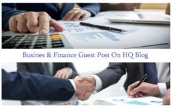 I will do guest post on business finance site