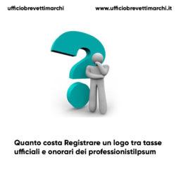 Quanto costa Registrare un logo tra tasse ufficiali ed onorari dei professionisti