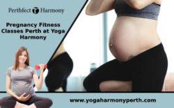 Pregnancy Fitness Classes Perth at Yoga Harmony