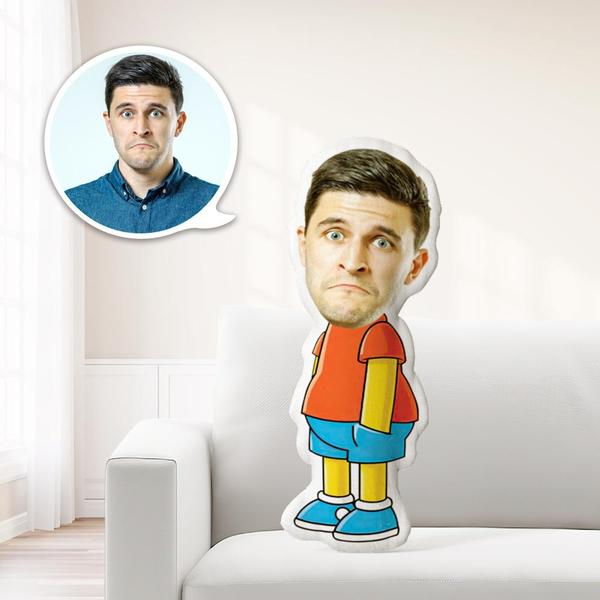 Personalized Photo My Face On Pillows Custom Minime Dolls Gag Gifts Toys Lisa