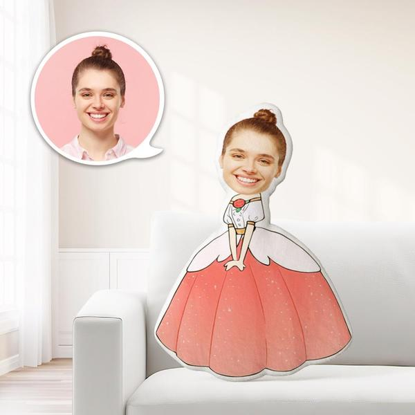 Personalized Photo My Face On Pillows Custom Minime Dolls Gag Gifts Toys Queen