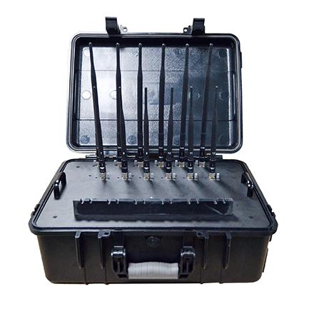 Haute Puissance Portable Brouilleur Téléphone 12 Bands 2G 3G 4G LOJACK GPSL1-L5 WIFI2.4G 5G Signals