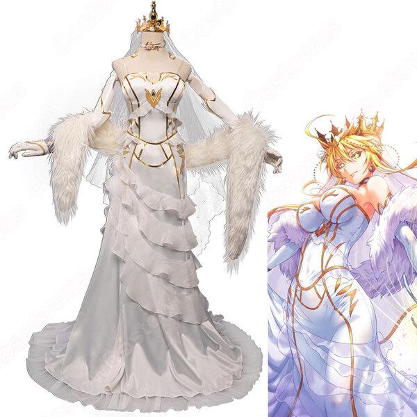 Fate FGO アルトリア・ペンドラゴン 花嫁 ドレス コスプレ衣装 『Fate/Grand Order』(フェイト・グラ ...
