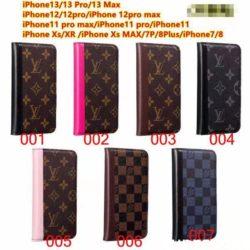 ルイヴィトン 手帳型 iPhone13/13Proケース アイフォン12/13プロマックス保護カバー メンズ レディース