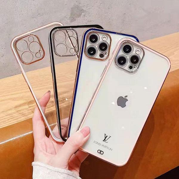 ルイヴィトン iPhone13/13 Pro Maxケース クリアケース ブラント アイフォン13pro/12カバー 透明 オシャレ