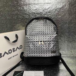 Bao Bao Issey Miyake Kuro Daypack Backpack Silver