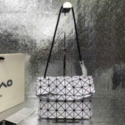 Bao Bao Issey Miyake Prism Shoulder Bag White