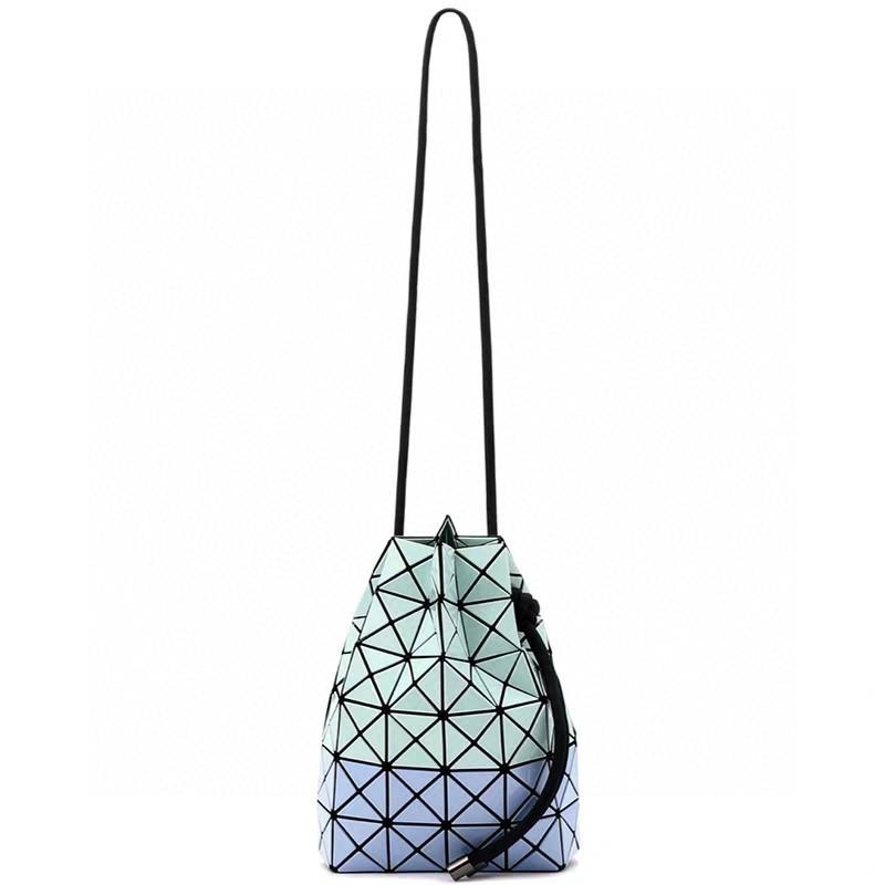 Bao Bao Issey Miyake Prism Wring Bi-color Shoulder Bag Light Blue