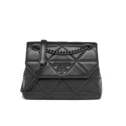 Prada 1BD233 Small Nappa Leather Spectrum Bag In Black